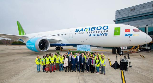 Máy bay Boeing 787-9 Dreamliner đầu tiên cất cánh về với đội bay của Bamboo Airways - Ảnh 5.