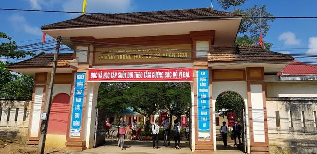Trường THCS Xuân Hoá.