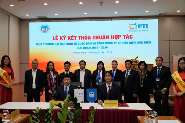 PTI ký kết hợp tác với Trường Đại học Kinh tế Quốc dân - Ảnh 1.