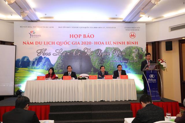 """Ninh Bình đăng cai Năm Du lịch Quốc gia 2020 với chủ đề """"Hoa Lư – Cố đô ngàn năm"""" - Ảnh 1."""