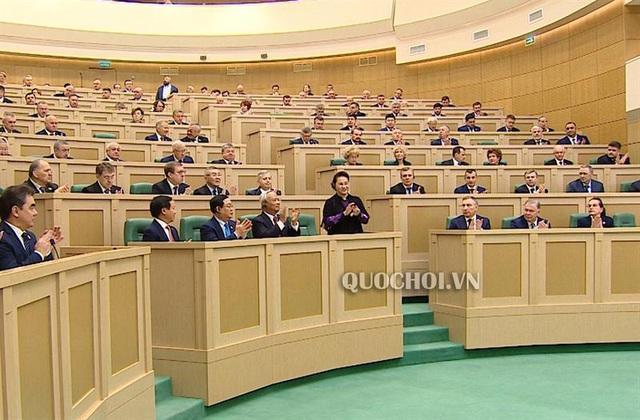 Phát biểu của Chủ tịch Quốc hội tại phiên họp toàn thể Hội đồng Liên bang Nga - Ảnh 1.