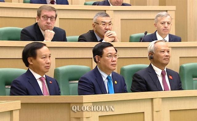 Phát biểu của Chủ tịch Quốc hội tại phiên họp toàn thể Hội đồng Liên bang Nga - Ảnh 4.