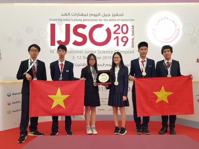 Cả 6 học sinh Việt Nam đều đoạt huy chương tại Kỳ thi Olympic Khoa học trẻ quốc tế IJSO 2019 - Ảnh 1.
