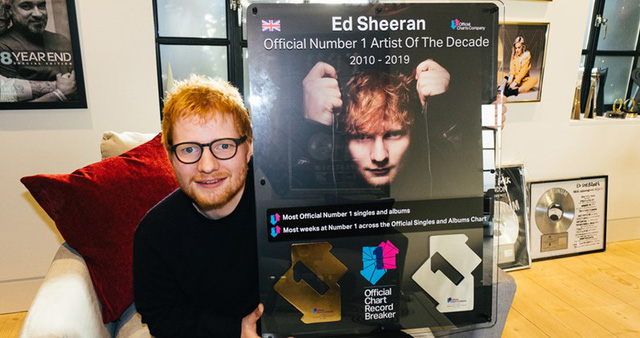 """Ed Sheeran - Nghệ sỹ của thập kỷ nói gì về """"bí quyết"""" thành công - Ảnh 1."""