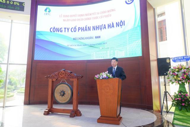 Nhựa Hà Nội chính thức niêm yết sàn HoSE - Ảnh 1.