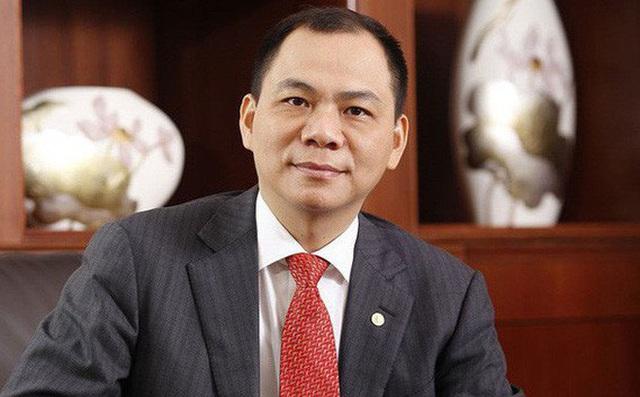 Ông Phạm Nhật Vượng đứng thứ 239 người giàu nhất thế giới - Ảnh 1.