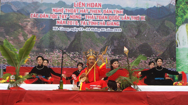 Thực hành Then của người Tày, Nùng, Thái ở Việt Nam được UNESCO ghi danh vào Danh sách Di sản văn hóa phi vật thể đại diện của nhân loại - Ảnh 2.