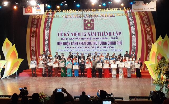 Hội Di sản Văn hóa Việt Nam đón nhận Bằng khen của Thủ tướng Chính phủ  - Ảnh 3.