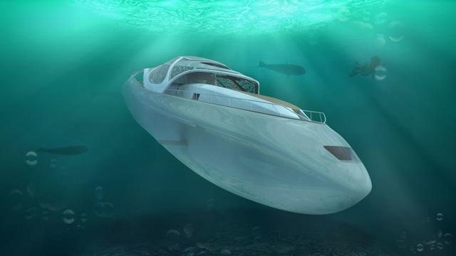 Biến siêu du thuyền thành tàu ngầm - Ảnh 1.