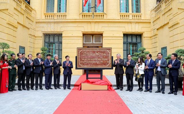 Trụ sở Tòa án nhân dân tối cao nhận Bằng xếp hạng di tích Kiến trúc - Nghệ thuật cấp Quốc gia - Ảnh 4.