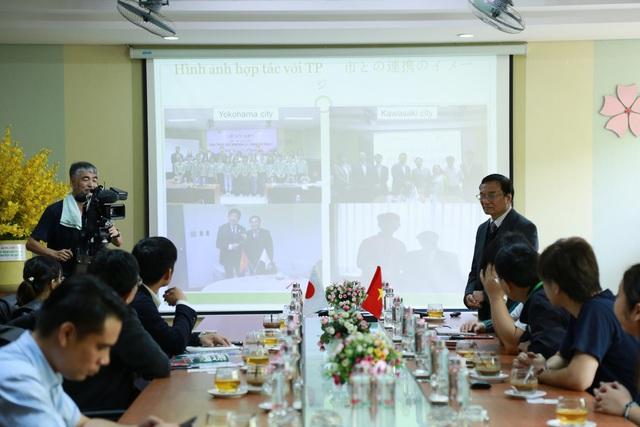 Đài truyền hình NHK Nhật Bản ghi hình hợp tác Đại học Đông Á – TP. Yokohama - Ảnh 2.