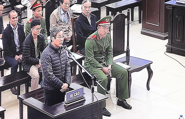 Sau giờ nghỉ trưa, ông Nguyễn Bắc Son tiếp tục thay đổi lời khai - Ảnh 1.