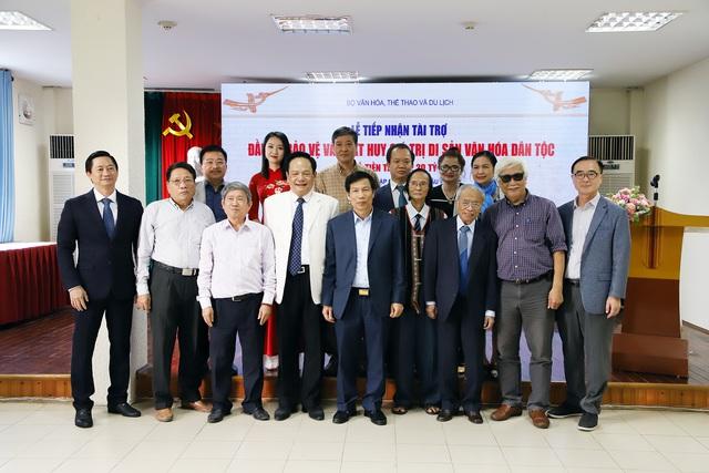 Viện Văn hóa Nghệ thuật quốc gia Việt Nam tiếp nhận tài trợ 20 tỷ đầu tư và phát huy giá trị di sản văn hóa dân tộc - Ảnh 3.