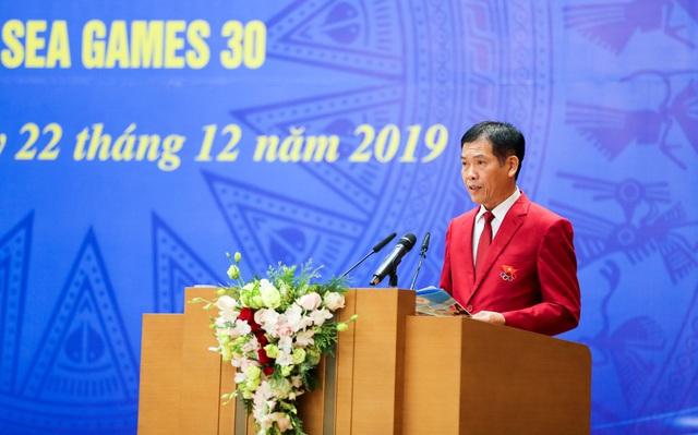"""Thủ tướng Nguyễn Xuân Phúc: """"Hình ảnh lá cờ đỏ sao vàng được kéo lên tại SEA Games đã mang lại một niềm xúc động, cảm xúc mạnh mẽ"""" - Ảnh 2."""