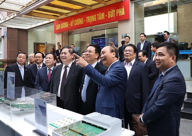 Hình ảnh Thủ tướng Nguyễn Xuân Phúc dự Hội nghị tổng kết ngành Thông tin và Truyền thông - Ảnh 1.