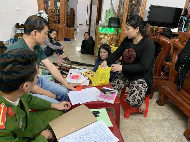 Lực lượng Công an kiểm tra khám xét nơi ở Nguyễn Minh Tuấn (tức Lỳ Huân).