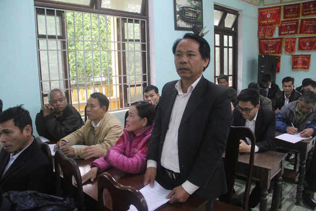 Bộ trưởng Nguyễn Ngọc Thiện tiếp xúc cử tri huyện miền núi Nam Đông - Ảnh 2.