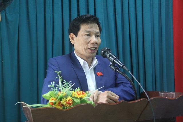 Bộ trưởng Nguyễn Ngọc Thiện tiếp xúc cử tri huyện miền núi Nam Đông - Ảnh 1.