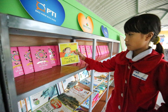 PTI trao tặng Thư viện xanh cho Trường Tiểu học Kỳ Lâm, Hà Tĩnh  - Ảnh 2.