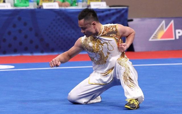 Ngày thi đấu chính thức thứ 3 SEA Games 30: Wushu giành được HCV đầu tiên, mở màn cho ngày thi đấu thành công - Ảnh 1.