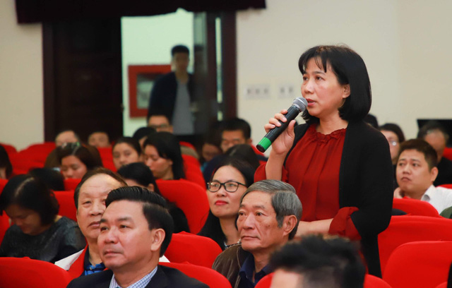 Liên Chi hội Nhà báo Bộ Văn hóa, Thể thao và Du lịch tổ chức Đại hội nhiệm kỳ 2020-2025 - Ảnh 9.