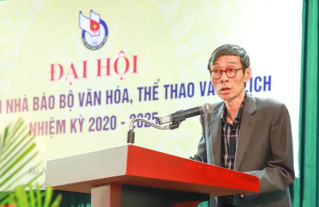Liên Chi hội Nhà báo Bộ Văn hóa, Thể thao và Du lịch tổ chức Đại hội nhiệm kỳ 2020-2025 - Ảnh 6.