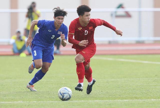 Thẳng tiến bán kết, U22 Việt Nam biến Thái Lan thành cựu vương SEA Games - Ảnh 3.