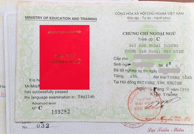 Trước 'hạn chót' thi, cấp chứng chỉ ngoại ngữ, Thanh tra Bộ GDĐT ra công văn Khẩn - Ảnh 1.