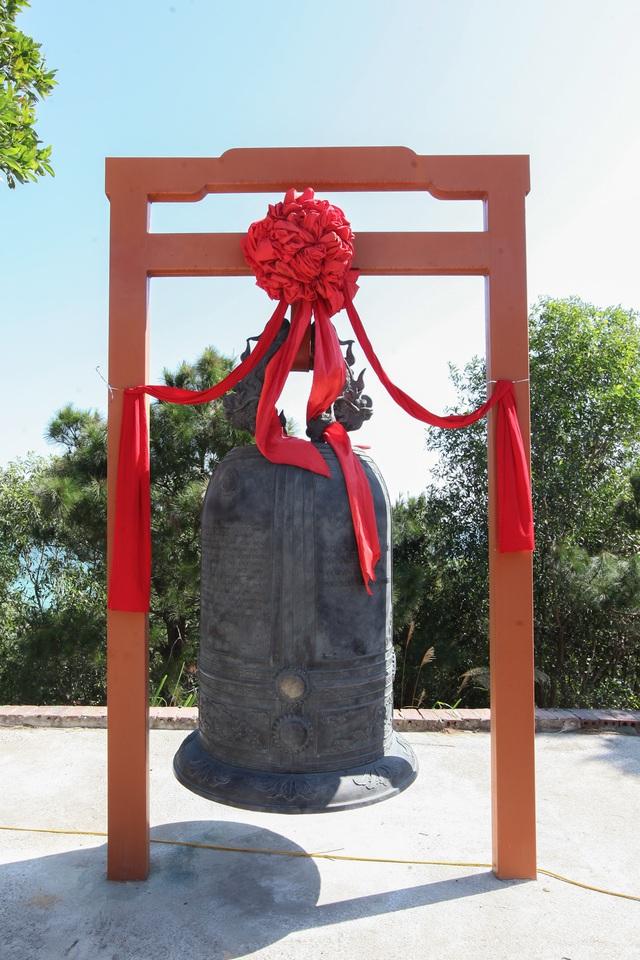 Khánh thành chùa Cô Tô - Cột mốc văn hóa tâm linh nơi biển đảo - Ảnh 2.