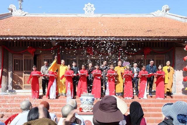 Khánh thành chùa Cô Tô - Cột mốc văn hóa tâm linh nơi biển đảo - Ảnh 1.