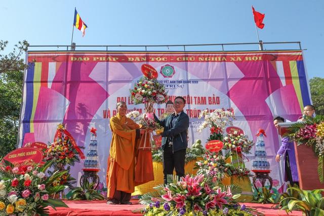 Khánh thành chùa Cô Tô - Cột mốc văn hóa tâm linh nơi biển đảo - Ảnh 3.