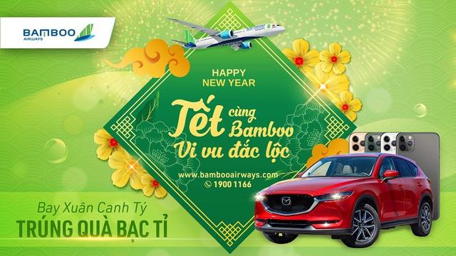 Cơ hội trúng ngay xe sang khi bay Tết cùng Bamboo Airways - Ảnh 1.