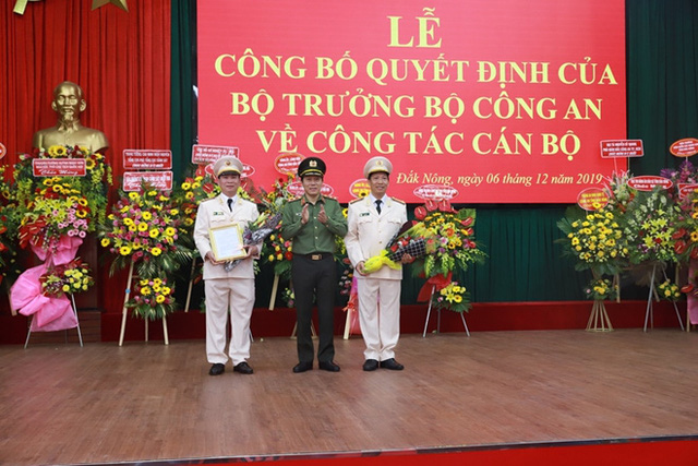 Bộ trưởng Bộ Công an bổ nhiệm Giám đốc Công an tỉnh Đắk Lắk và Đắk Nông - Ảnh 1.