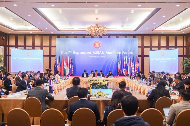 Khai mạc Diễn đàn Biển ASEAN mở rộng lần thứ 7 tại Đà Nẵng - Ảnh 1.