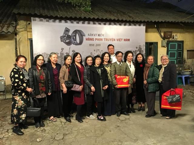 Nghệ sĩ gạo cội tổ chức gặp mặt, kỷ niệm 60 năm thành lập Hãng phim truyện Việt Nam - Ảnh 1.