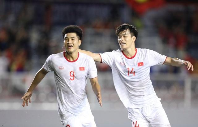 U22 Việt Nam chiếm gần nửa đội hình tiêu biểu bóng đá nam SEA Games 30 - Ảnh 1.
