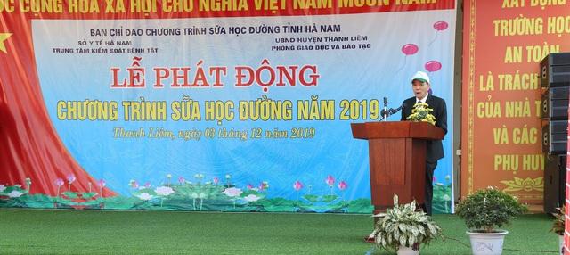 Tỉnh Hà Nam tổ chức lễ phát động chương trình Sữa học đường - Ảnh 3.