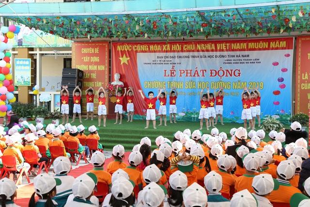 Tỉnh Hà Nam tổ chức lễ phát động chương trình Sữa học đường - Ảnh 5.