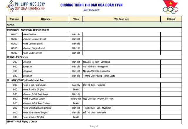 Ngày thi đấu chính thức thứ 8 SEA Games 30: Bóng đá nữ bước tới HCV - Ảnh 1.