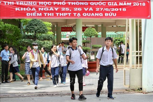 Công bố dự thảo sửa đổi Quy chế thi Trung học phổ thông quốc gia - Ảnh 2.
