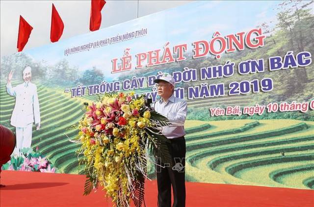 Tổng Bí thư, Chủ tịch nước Nguyễn Phú Trọng phát động Tết trồng cây đời đời nhớ ơn Bác Hồ - Ảnh 1.
