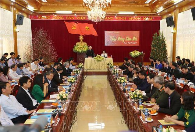Tổng Bí thư, Chủ tịch nước Nguyễn Phú Trọng phát động Tết trồng cây đời đời nhớ ơn Bác Hồ - Ảnh 2.