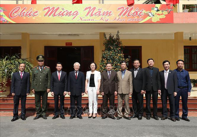 Tổng Bí thư, Chủ tịch nước Nguyễn Phú Trọng phát động Tết trồng cây đời đời nhớ ơn Bác Hồ - Ảnh 4.