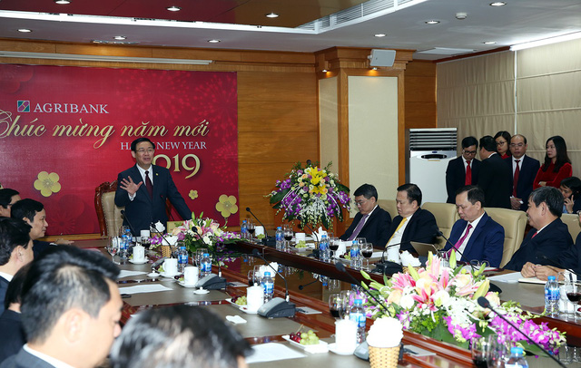 Phó Thủ tướng Vương Đình Huệ thăm, làm việc tại Uỷ ban Quản lý vốn nhà nước  - Ảnh 3.