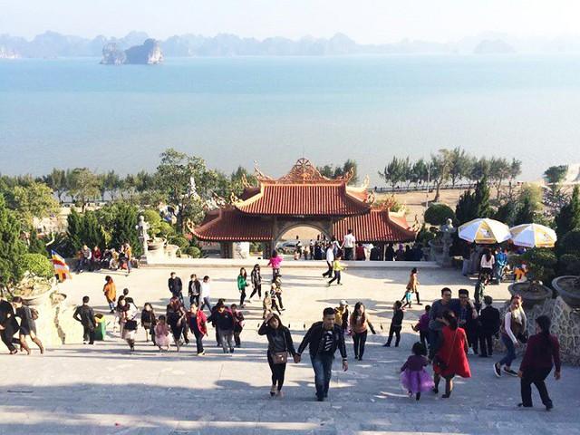 Đầu xuân về chiêm bái ngôi chùa  được xây dựng nơi cửa ải vùng Đông Bắc của Tổ quốc - Ảnh 7.