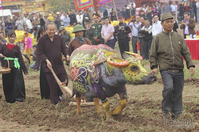 Phó Thủ tướng Thường trực Trương Hòa Bìnhthực hiện nghi thức xuống đồng - Ảnh 2.
