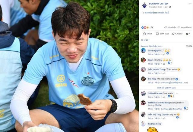 Vì Xuân Trường, fan Việt tạo ra cơn bão tương tác ở fanpage Buriram United - Ảnh 1.