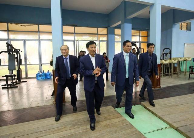 """Bộ trưởng Nguyễn Ngọc Thiện: """"Nếu muốn chiến thắng ở đấu trường lớn trước hết phải có sự tự tin"""" - Ảnh 2."""