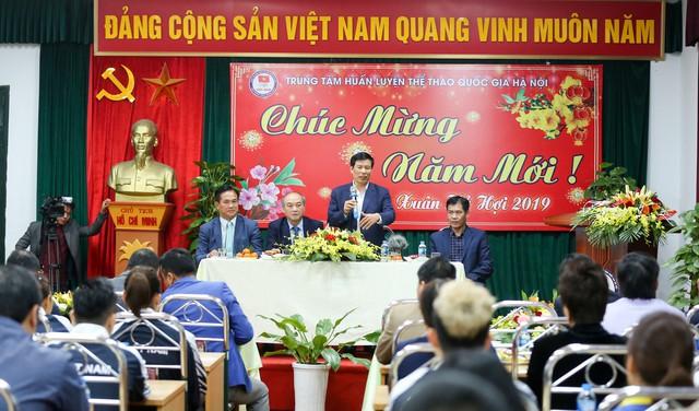 Hình ảnh Bộ trưởng Nguyễn Ngọc Thiện thăm và chúc Tết các VĐV, HLV  - Ảnh 12.