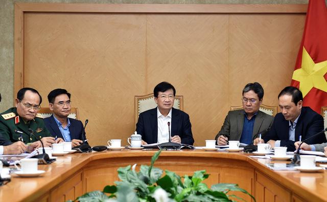 Phó Thủ tướng Trịnh Đình Dũng chủ trì cuộc họp về chuẩn bị đầu tư sân bay Long Thành - Ảnh 1.